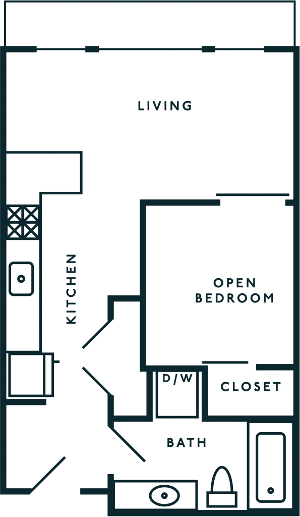 Open 1 Bedroom Capitol Hill WA