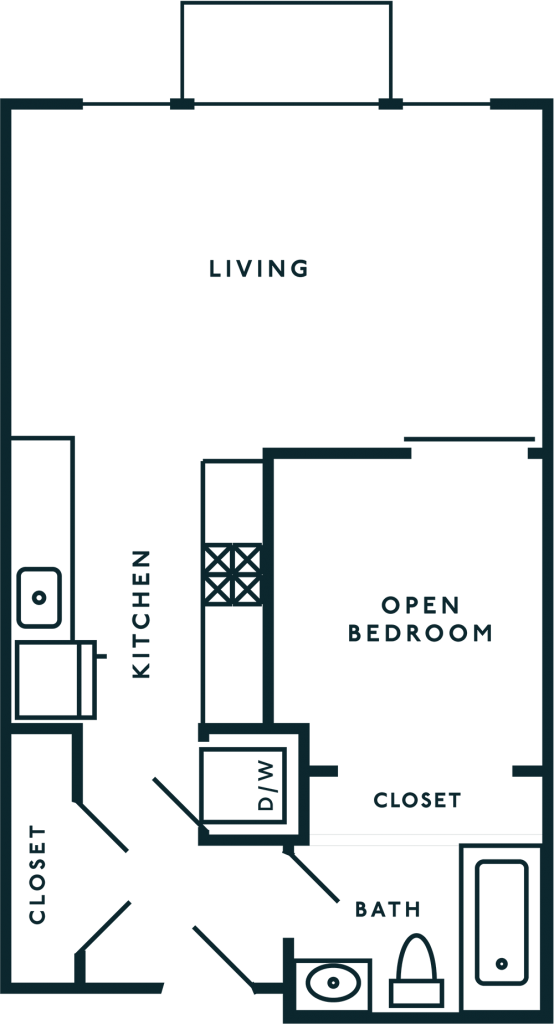 Open 1 Bedroom Capitol Hill Seattle WA